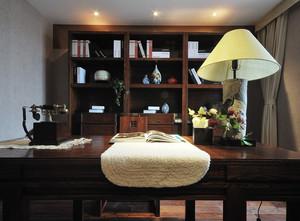 大气的中式风格书房设计装修图片大全