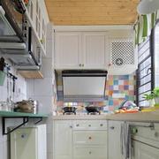 白色时尚的厨房