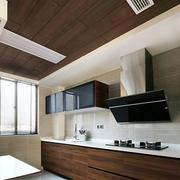 大户型厨房实木吊顶