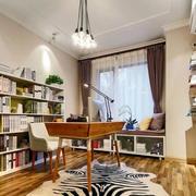 书房书架布置图