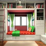 书房榻榻米床展示