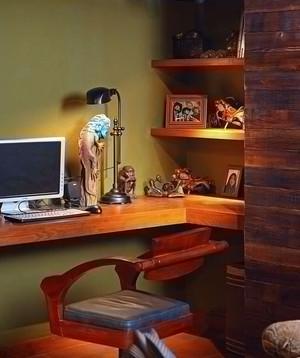 小家庭公寓书房