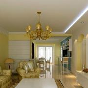 房屋客厅温馨装饰