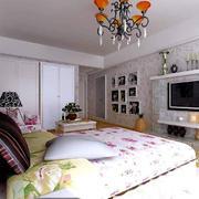 优雅时尚的温馨卧室