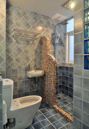 卫生间瓷砖贴图欣赏