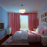 甜美女孩子的卧室