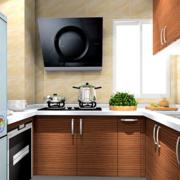 温暖厨房橱柜展示
