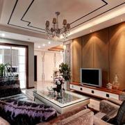 成熟的精致客厅