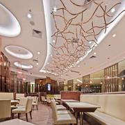 餐厅走廊创意吊顶