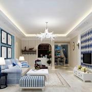 白色明亮的客厅装饰
