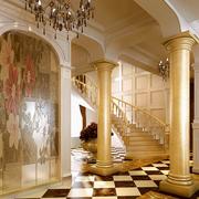 欧式宫廷式的楼梯