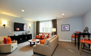 一居室小户型客厅