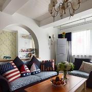地中海混搭客厅设计