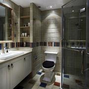 大户型的家居卫生间