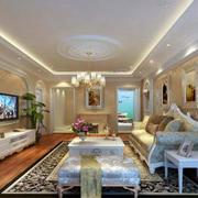 俊秀靓丽的客厅