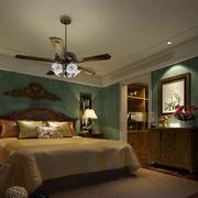 120平米家居美式风格卧室