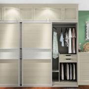 卧室现代化的衣柜