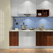 一字型厨房橱柜图片