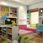 儿童房置物架展示