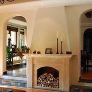 美式客厅壁炉欣赏