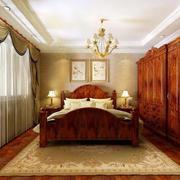 美式卧室经典衣柜