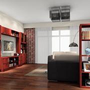 客厅红木组合电视柜