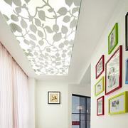 客厅彩色照片墙展示