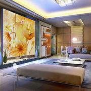 客厅奢华的玻璃