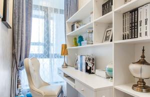 家居实用白色书房
