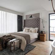 现代化的家居卧室