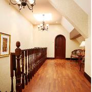阁楼楼梯扶手图片