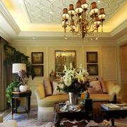前卫靓丽的客厅
