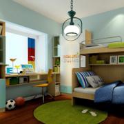 三室两厅卧室书柜展示
