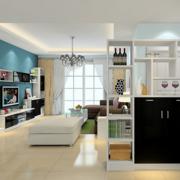 客厅简洁的设计实景