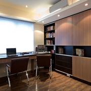 精致现代化的书房