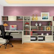 书房置物架展示图
