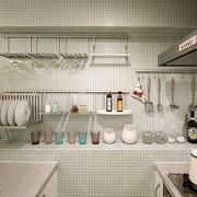 厨房置物架布置
