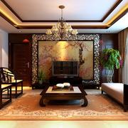 家居安静客厅装饰
