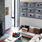 大户型人家客厅照片墙
