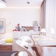 公寓书房书桌设计