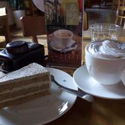 咖啡馆甜点图片