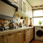 家居实用大厨房
