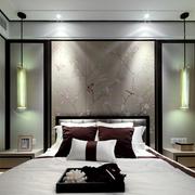 家居中式卧室设计