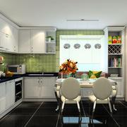 简欧风格的厨房欣赏