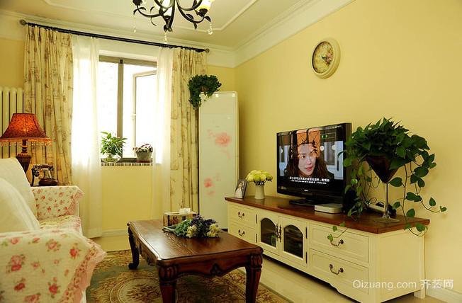 暖意洋洋的新中式风格家居装修效果图