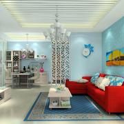 清新亮丽的客厅