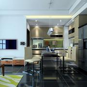 复式楼现代时尚厨房