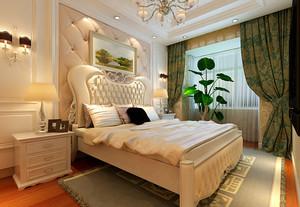 华丽的欧式古典风格卧室装修设计图片大全
