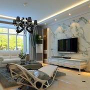 艺术瓷砖电视墙欣赏
