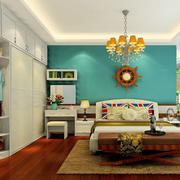 美式风格卧室装饰图